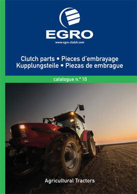 Catálogo de embragues para tractores